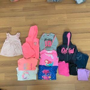 14 Piece Size 2T Toddler Girl's Bundle